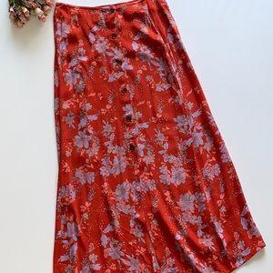 Never-Worn Free People Midi Skirt